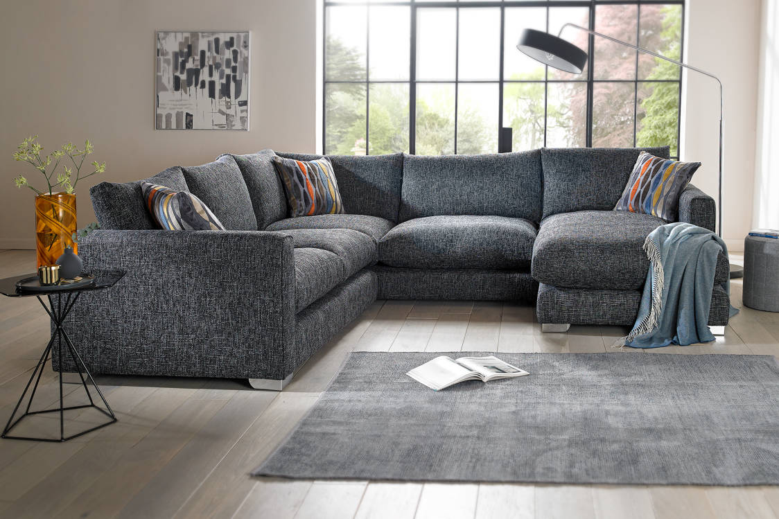 Corner sofas in leather fabric sofology saved parisarafo Image collections
