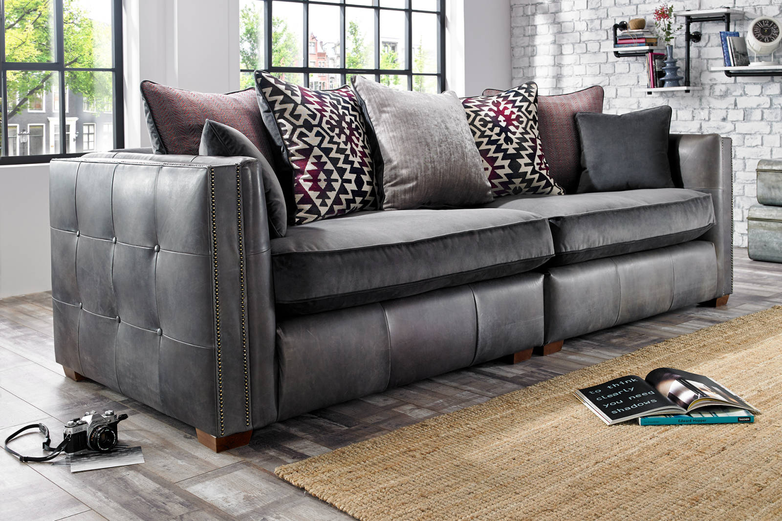 100 fulham leather sofa the fulham faux leather bed frame m
